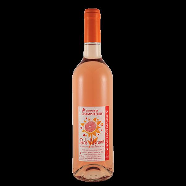 Perles d'agrumes - rosé pamplemousse - Domaine de Champ Fleury
