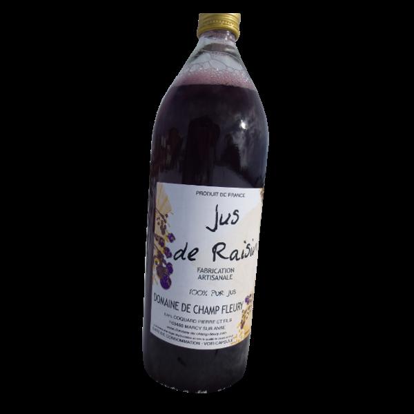 Jus de raisin - Domaine de Champ Fleury
