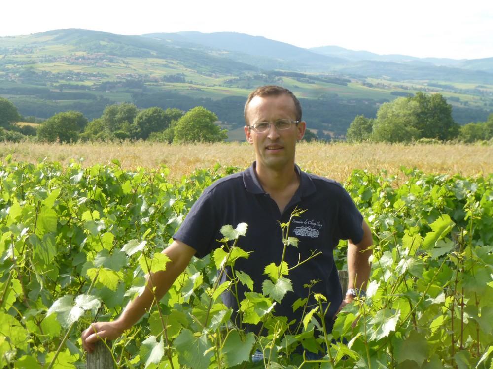 Louis-Marie COQUARD - vigneron - Domaine de Champ Fleury
