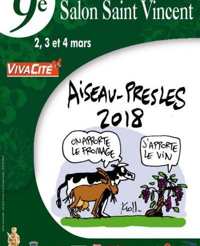salon Vin et fromage Aiseau-Presles Belgique