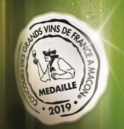médaille d'Argent Concours Mâcon 2019